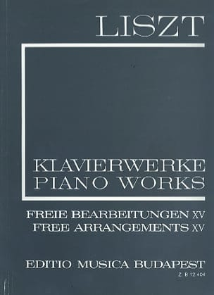 Arrangements Pour Piano Volume 15 Série 2 - LISZT - laflutedepan.com