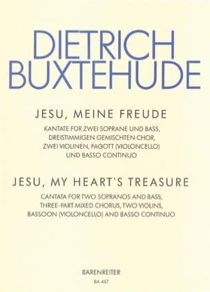 Dietrich Buxtehude - Jesu, Meine Freude. Buxwv 60 - Partition - di-arezzo.co.uk