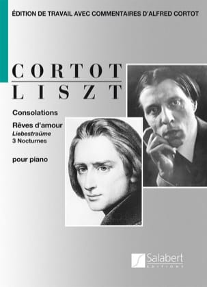Consolations et Rêves d'amour LISZT Partition Piano - laflutedepan
