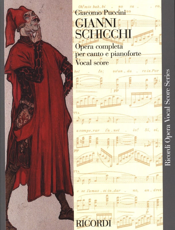 Gianni Schicchi - PUCCINI - Partition - Opéras - laflutedepan.com
