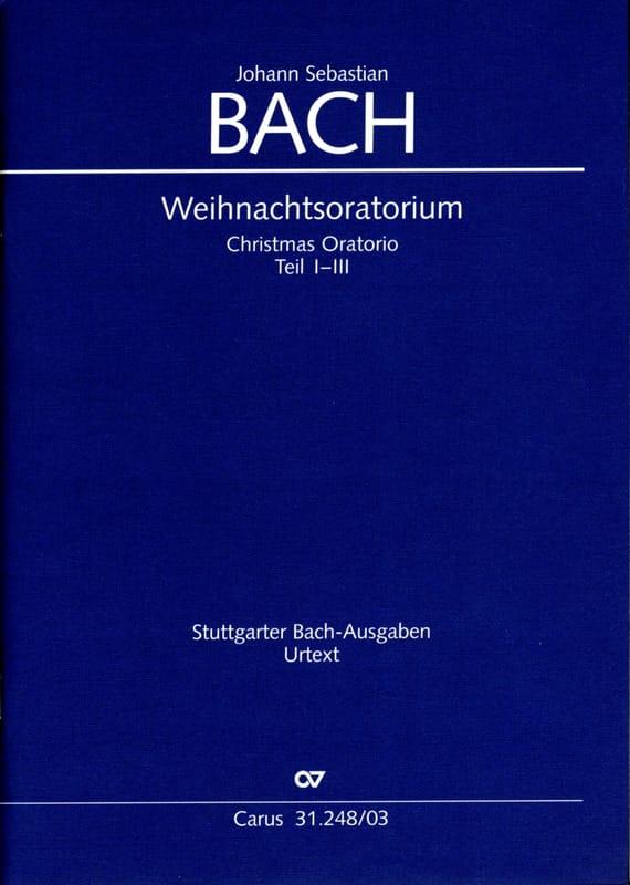 Weihnachts-Oratorium 1-3. BWV 248 - BACH - laflutedepan.com