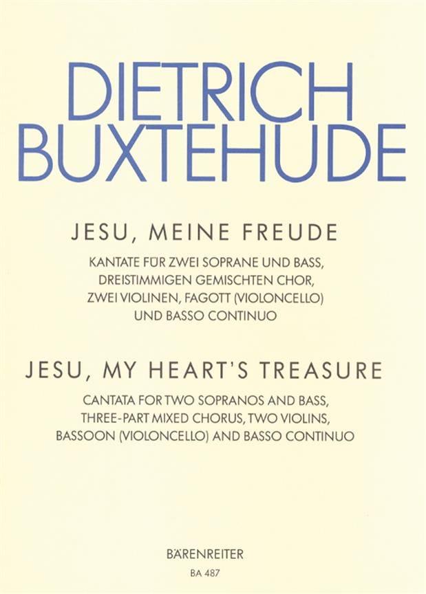 Jesu, Meine Freude. Buxwv 60 - BUXTEHUDE - laflutedepan.com