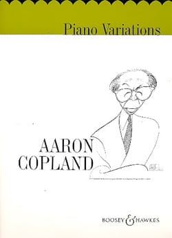 Piano Variations COPLAND Partition Piano - laflutedepan
