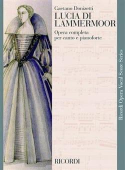 Lucia Di Lammermoor. DONIZETTI Partition Opéras - laflutedepan