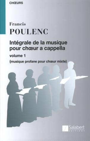Intégrale de la Musique Chorale A Cappella. Volume 1 laflutedepan