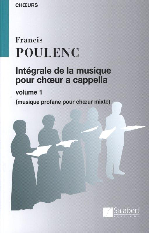 Intégrale de la Musique Chorale A Cappella. Volume 1 - laflutedepan.com
