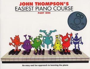 Easiest Piano Course Volume 1 avec CD Partition Piano - laflutedepan