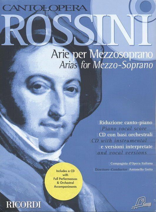Arie Per Mezzosoprano - ROSSINI - Partition - laflutedepan.com