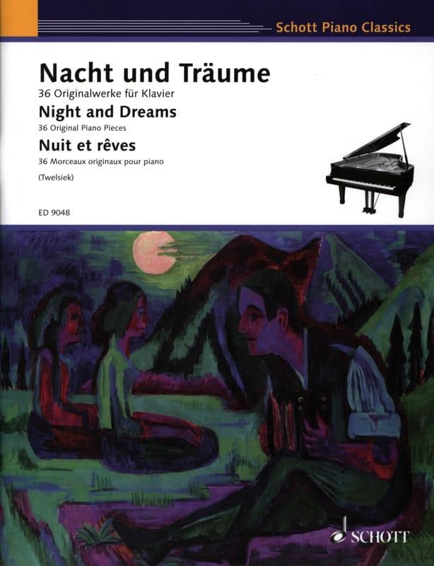 Nacht Und Träume - Partition - Piano - laflutedepan.com