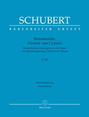 Rosamunde D 797 - SCHUBERT - Partition - Opéras - laflutedepan.com