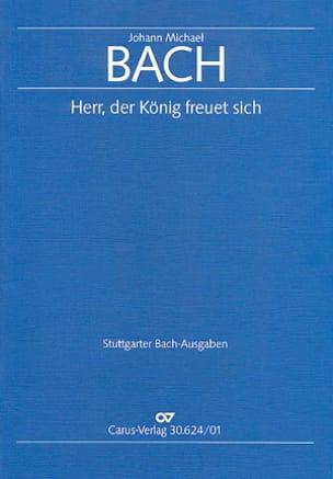Herr, Der König Freuet Sich Johann Michael Bach Partition laflutedepan