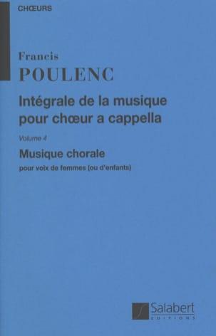 Intégrale de la Musique Chorale A Cappella. Volume 4 laflutedepan