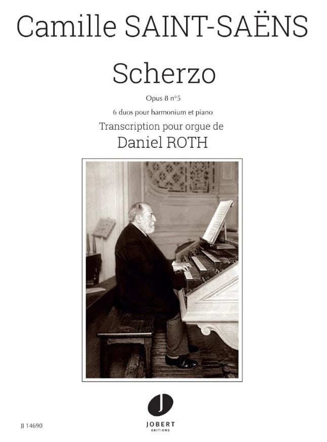 Scherzo Opus 8 n° 5 - SAINT-SAËNS - Partition - laflutedepan.com