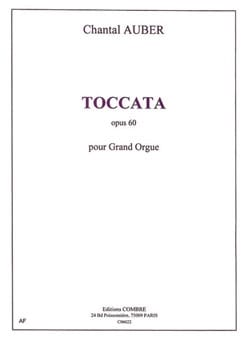 Toccata Op. 60 Chantal Auber Partition Orgue - laflutedepan