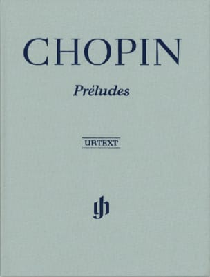 Préludes - Edition Reliée CHOPIN Partition Piano - laflutedepan