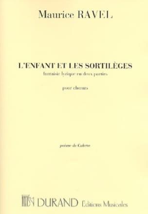 L'enfant et les Sortilèges. Choeurs - RAVEL - laflutedepan.com