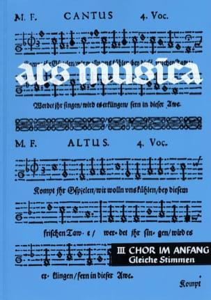 Ars Musica Volume 3 Partition Chœur - laflutedepan