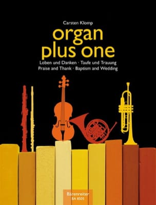Organ Plus one. Baptêmes et mariage Carsten Klomp laflutedepan