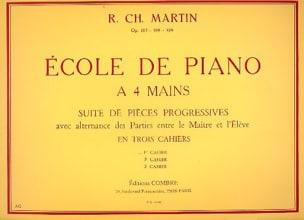 Ecole Du Piano A 4 Mains Volume 1 Opus 127 laflutedepan
