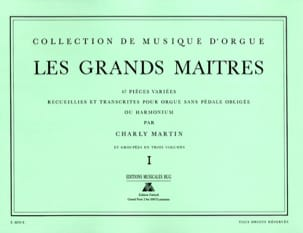 Les Grands Maitres Volume 1 Partition Orgue - laflutedepan