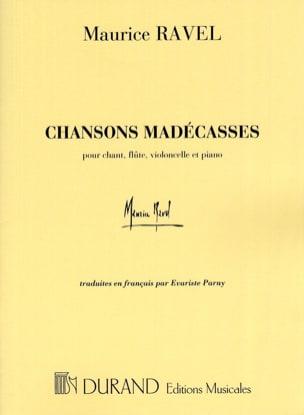 Chansons Madécasses RAVEL Partition laflutedepan