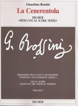 La Cenerentola. Edition Critique. ROSSINI Partition laflutedepan