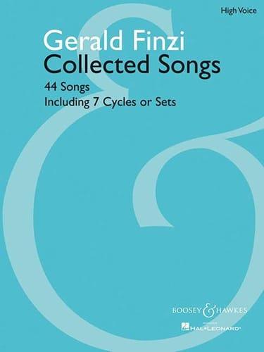 44 Collected Songs. Voix Haute - Gerald Finzi - laflutedepan.com