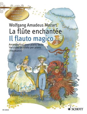 La Flûte Enchantée MOZART Partition Piano - laflutedepan