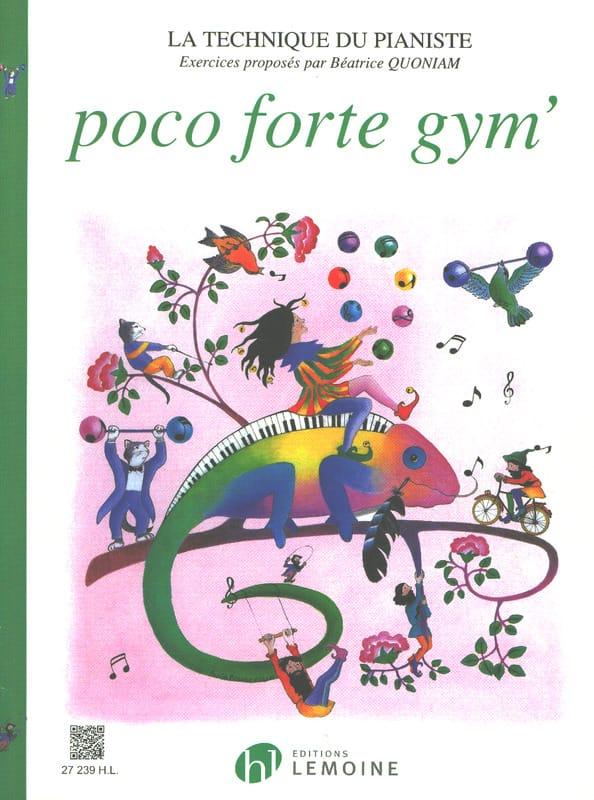 Poco Forte Gym' - Partition - Piano - laflutedepan.com
