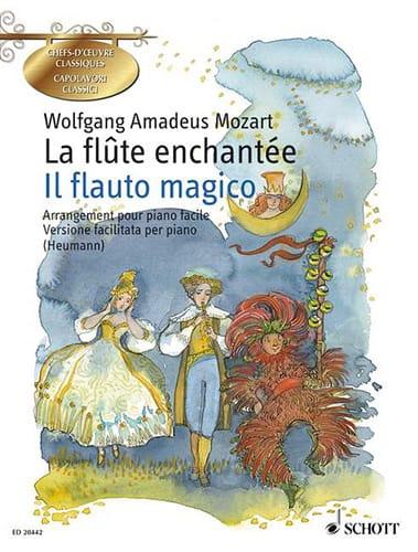 La Flûte Enchantée - MOZART - Partition - Piano - laflutedepan.com