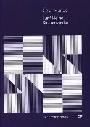 5 Kleinere Kirchenwerke - FRANCK - Partition - laflutedepan.com