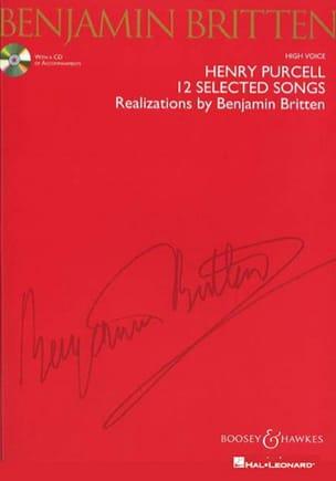 12 Selected Songs. Voix Haute PURCELL / BRITTEN Partition laflutedepan