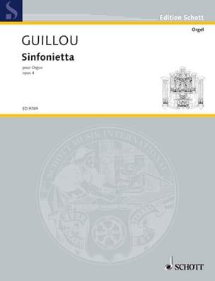 Sinfonietta Opus 4 Jean Guillou Partition Orgue - laflutedepan