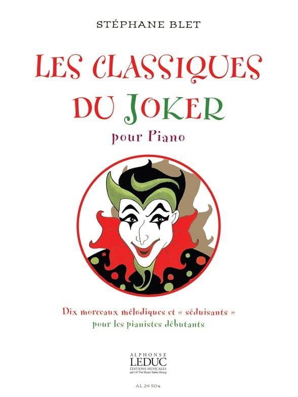 Les Classiques Du Joker - Stéphane Blet - Partition - laflutedepan.com
