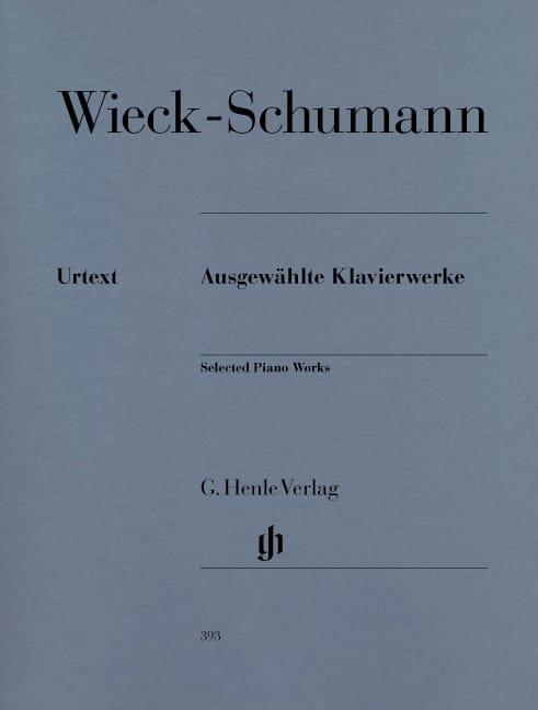 Oeuvres choisies pour piano - Clara Schumann - laflutedepan.com