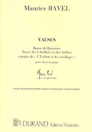 Maurice Ravel - Los valses y hechizos de los niños. 4 manos - Partition - di-arezzo.es