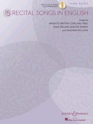 Recital Songs In English. Voix Haute - laflutedepan.com