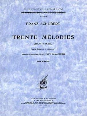 30 Mélodies. Voix Moyenne - SCHUBERT - Partition - laflutedepan.com