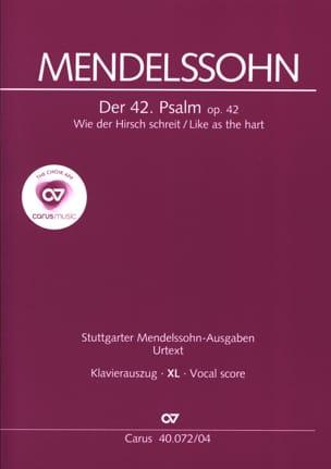 Der 42. Psalm. Wie Der Hirsch Schreit XL Format laflutedepan