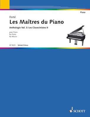 Les Maîtres Du Piano Volume 3. les Clavecinistes 2 laflutedepan