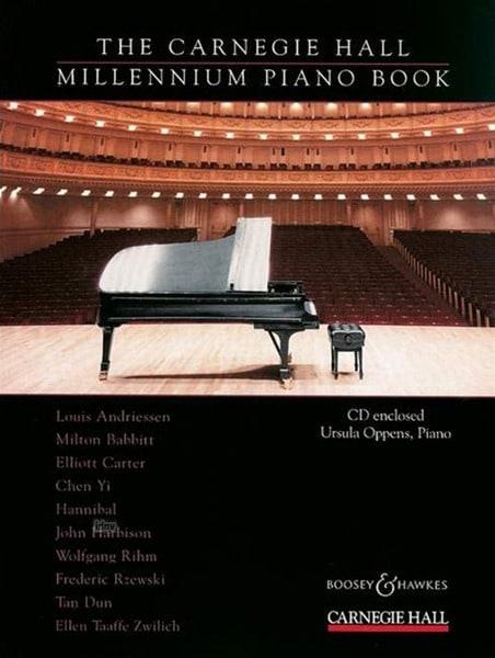 The Carnegie Hall Millennium Piano Book - laflutedepan.com