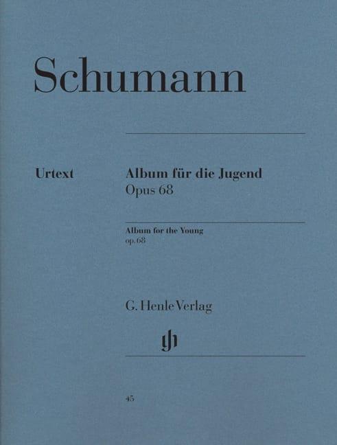 Album Pour la Jeunesse Opus 68 - SCHUMANN - laflutedepan.com
