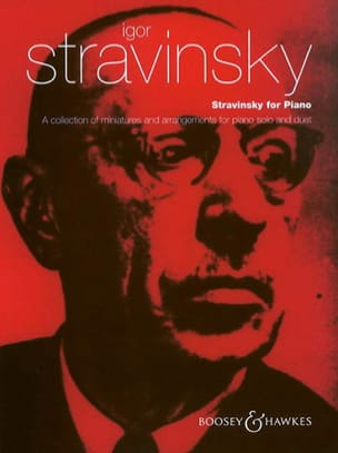 Stravinsky For Piano STRAVINSKY Partition Piano - laflutedepan