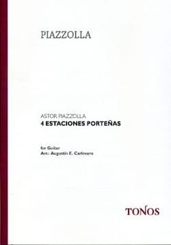 4 Estaciones Porteñas Astor Piazzolla Partition Piano - laflutedepan