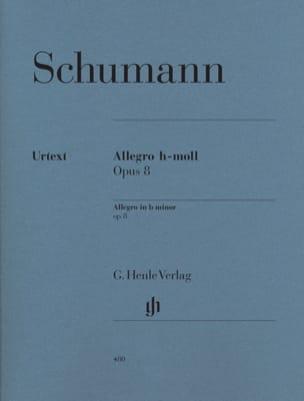 Allegro Si Mineur Opus 8 SCHUMANN Partition Piano - laflutedepan