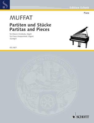 Partiten und Stücke - Georg Muffat - Partition - laflutedepan.com