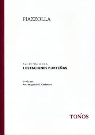 4 Estaciones Porteñas - Astor Piazzolla - Partition - laflutedepan.com