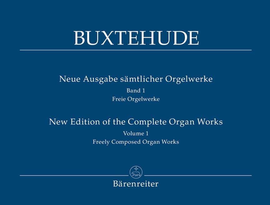 L'œuvre d'orgue, Volume 1 - BUXTEHUDE - Partition - laflutedepan.com
