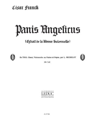 Panis Angelicus N° 14 FRANCK Partition Violon - laflutedepan