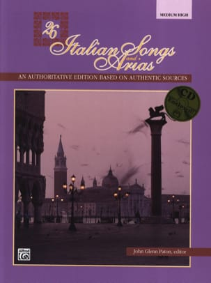 - 26 Italian Songs And Arias Medium High (avec CD) - Partition - di-arezzo.fr